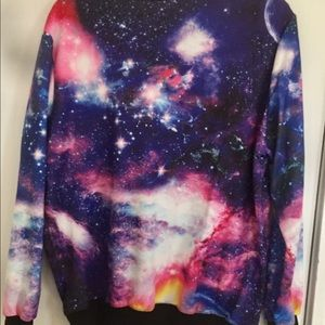 Tops - Galaxy Crewneck